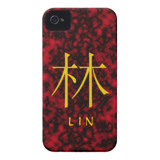 Lin Monogram iPhone 4 Covers