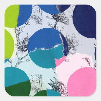 Lina Square Sticker