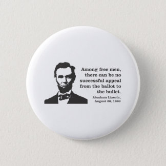 Lincoln 2 Inch Round Button