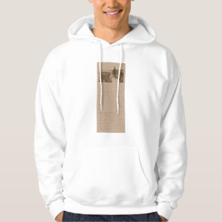 Lincoln and The Gettysburg Address Hoodie