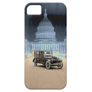 Lincoln at the White House 1922 iPhone 5 Cases