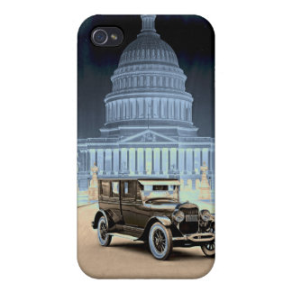 Lincoln at the White House 1922 Covers For iPhone 4