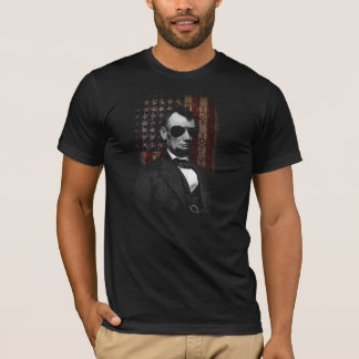Lincoln Aviator Flag T-Shirt