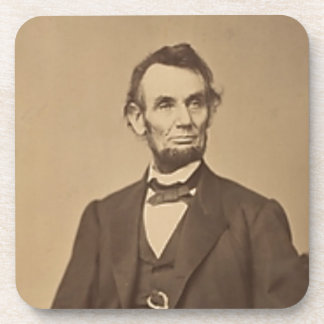 Lincoln Beverage Coaster