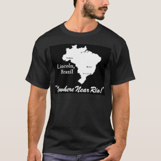 Lincoln, Brazil Dark T-Shirt