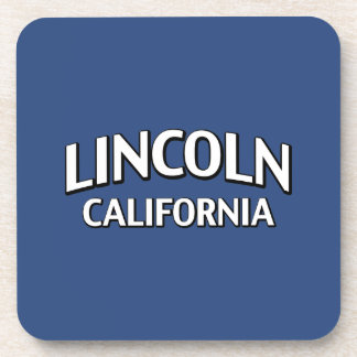 Lincoln California Drink Coasters
