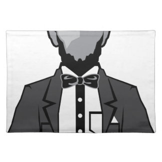 Lincoln cartoon vector placemats