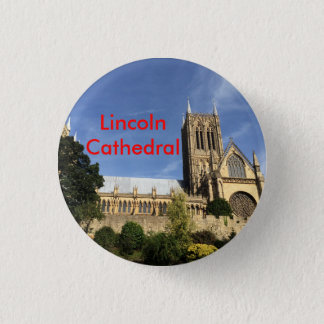 Lincoln Cathedral Badge 1 Inch Round Button