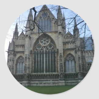 Lincoln Cathedral Classic Round Sticker