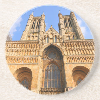 Lincoln cathedral drink coaster