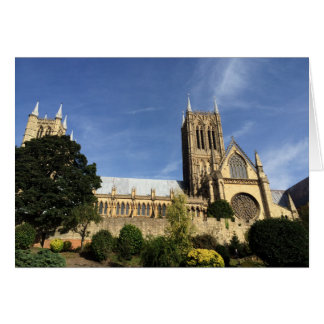 Lincoln Cathedral Greetings Card