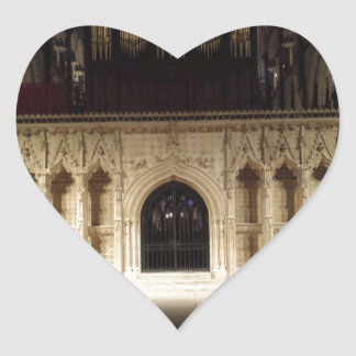 Lincoln Cathedral Heart Sticker