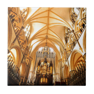 Lincoln cathedral tile