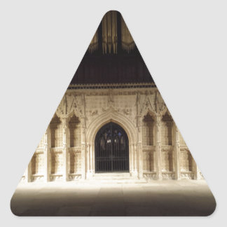 Lincoln Cathedral Triangle Sticker