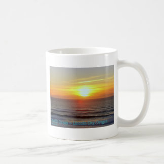 Lincoln City, Oregon - Sunset Coffee Mug