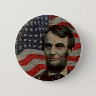 Lincoln day 2 inch round button