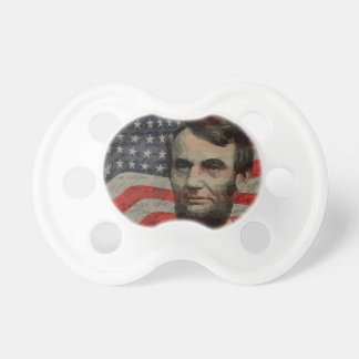 Lincoln day baby pacifier