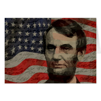 Lincoln day card