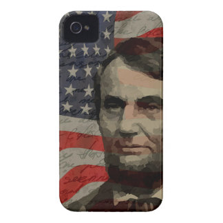 Lincoln day iPhone 4 case