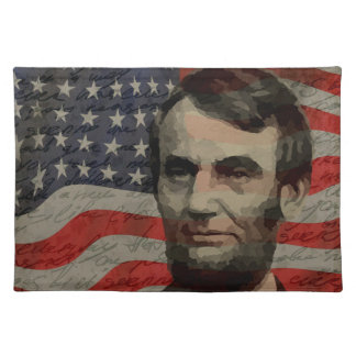Lincoln day placemat