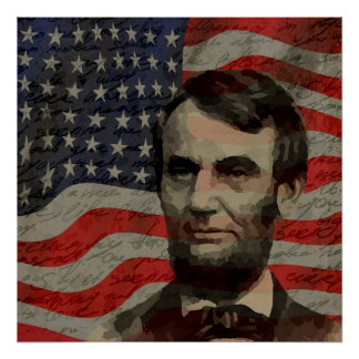 Lincoln day poster