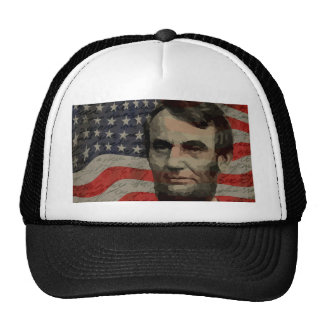 Lincoln day trucker hat