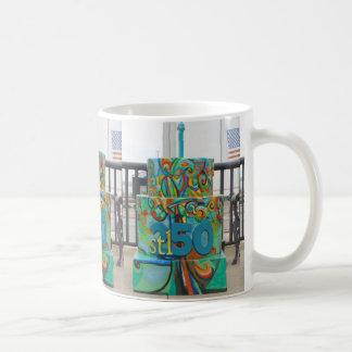 Lincoln Douglas Square Cake for Stl250 Coffee Mug