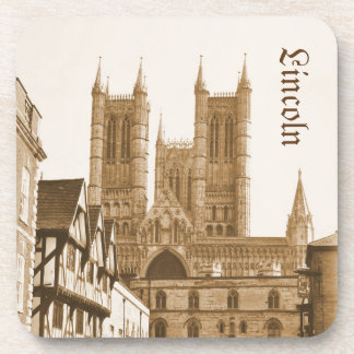 Lincoln, England Beverage Coasters