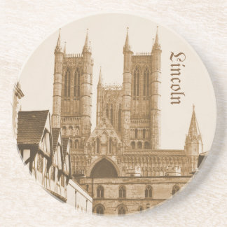 Lincoln, England Drink Coasters