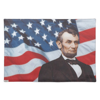 Lincoln flag placemat