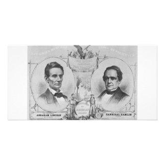Lincoln - Hamlin Customized Photo Card