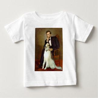 Lincoln & his Borzoi Baby T-Shirt