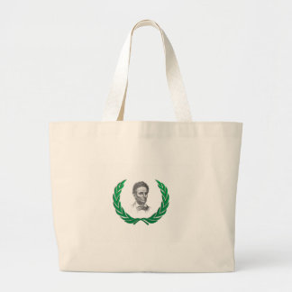 lincoln legend fun large tote bag