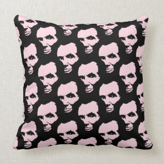 Lincoln Logged Throw Pillow