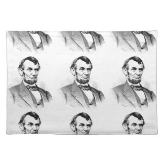 lincoln love place mats