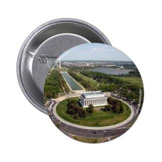 Lincoln Memorial 2 Inch Round Button
