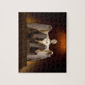 Lincoln Memorial At Night - Washington D.C. Puzzles