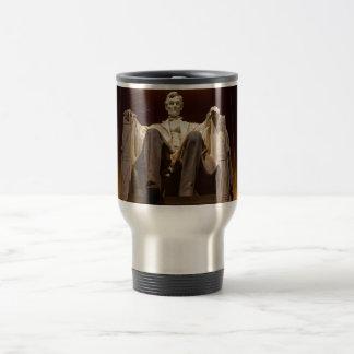 Lincoln Memorial At Night - Washington D.C. Travel Mug