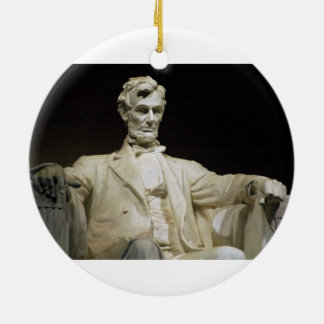 Lincoln Memorial Ceramic Ornament