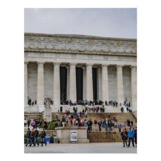 Lincoln Memorial Custom Letterhead