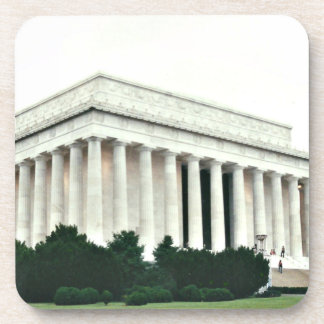 Lincoln Memorial Drink Coasters