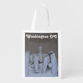 Lincoln Memorial Grocery Bag