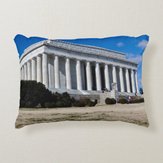 Lincoln Memorial in Washington DC Accent Pillow