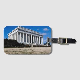 Lincoln Memorial in Washington DC Bag Tag