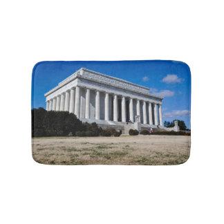 Lincoln Memorial in Washington DC Bathroom Mat