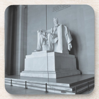 Lincoln Memorial in Washington DC Beverage Coasters