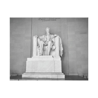 Lincoln Memorial in Washington DC Canvas Print