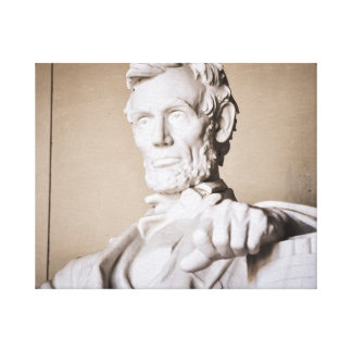 Lincoln Memorial in Washington DC Canvas Print