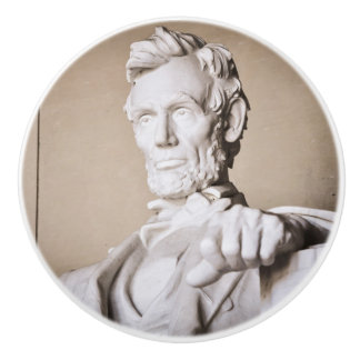 Lincoln Memorial in Washington DC Ceramic Knob