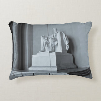 Lincoln Memorial in Washington DC Decorative Pillow